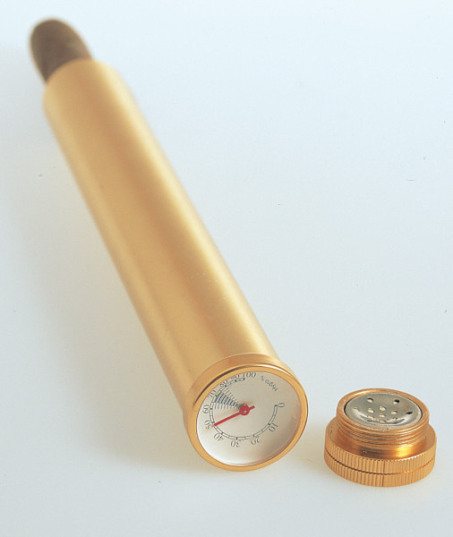 Taschenhumidor-Rohr, für ein Stück