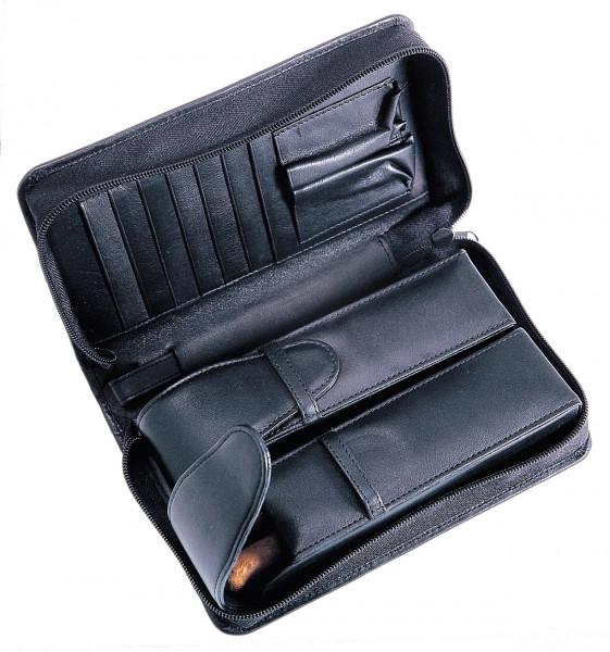 Herrentasche für Zigarrenraucher, Leder