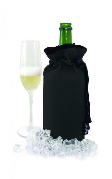 Pulltex Schaumwein Kühltasche, schwarz