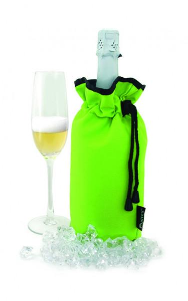Pulltex Schaumwein Kühltasche, grün
