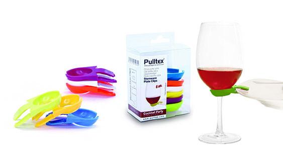 Pulltex Tellerclips, 6. Stk