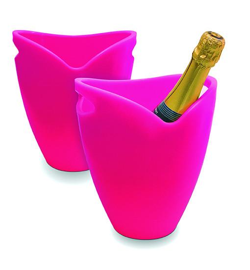Pulltex Flaschenkübel, rosa