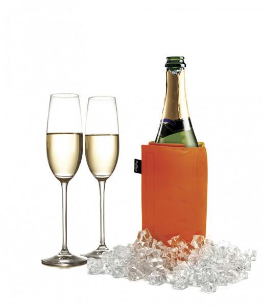 Pulltex Flaschenkühler mit Klettverschluss, orange