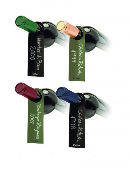 Pulltex Weinkeller-Etiketten zweifarbig, grün-schwarz