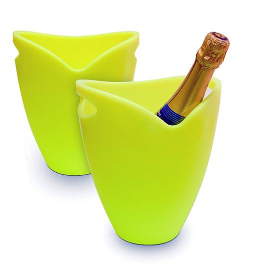 Pulltex Flaschenkübel, gelb