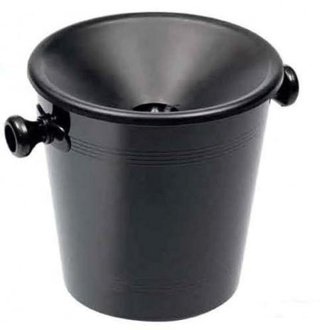 Spucknapf, Kunststoff schwarz, 3 Liter