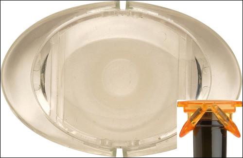 Colibri Sektverschluss, transparent
